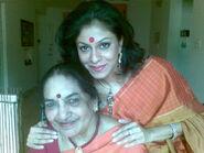 Maya with Madhu - Mother-Daughter duo