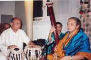 Gourang Kodical In a concert with Lalith J Rao
