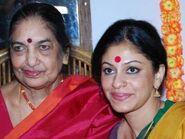 Maya Rao with Madhu Nataraj
