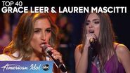 CLASSIC Country Sweethearts Lauren and Grace Compete for a Spot in the Top 20 - American Idol 2020