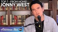 "SMOOTH Jonny West Sings A Sweet Rendition of ""Amazing Grace"" For His Mom - American Idol 2020"