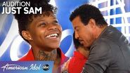 Bet YOU Can't Get Through Subway Singer Just Sam's AMAZING Audition Without Crying - American Idol