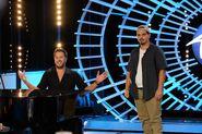 Luke Bryan and Doug Kiker s18 auditions