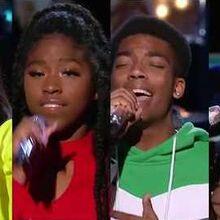 American Idol 2020 Cyniah Elise, Geena, Yzthasinger, Olivia Ximines Hollywood Week 2 Solo's