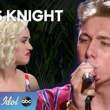 """Louis Knight CHARMS during Top 40 Showcase with """"Castle On The Hill"""" - American Idol 2020"""