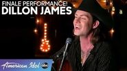 Dillon James Performs An Eric Chaplin Classic For The FINALE! - American Idol 2020