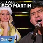 Francisco Martin Keeps His Nerves In Check During Hollywood Week - American Idol 2020