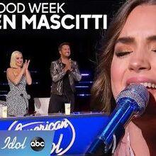 Lauren Mascitti Dedicates Her Original Solo Song to Her Nana - American Idol 2020