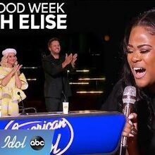 17-Year-Old Cyniah Elise Steps It Up for Hollywood Week with AMAZING Vocals - American Idol 2020