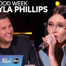 Makayla Phillips Brings STAR POWER to Hollywood Week - American Idol 2020