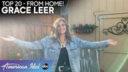 """Grace Leer Gives Effortless Performance of """"Cry"""" By Faith Hill - American Idol 2020"""