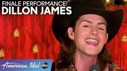 "DILLON JAMES Performs ""The Times They Are A-Changin'"" - American Idol 2020 Finale"