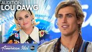 DREAMY Surfer Lou Dawg Hopes to Trade Hawaii for Hollywood - American Idol 2020