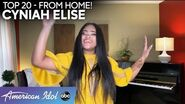 "Cyniah Elise STUNS With Demi Lovato's ""Warrior"" - American Idol 2020"