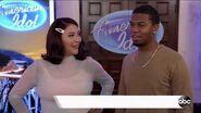 American Idol Hollywood Week - Michael Wingate and Demi Rae