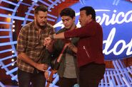 Luke Bryan, Francisco Martin, Lionel Richie s18 auditions 2