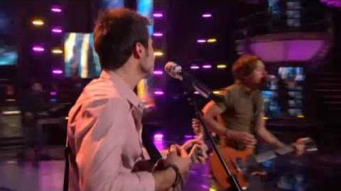 Kris Allen Keith Urban Kiss A Girl HD