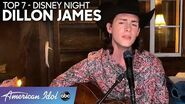"WOW! Dillon James Stuns Singing ""Our Town"" For Disney Night - American Idol 2020"
