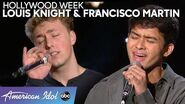 Francisco Martin and Louis Knight Prove It's a Bromance and Not a Rivalry - American Idol 2020