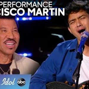 """Francisco Martin WOWs With Original Song """"Lover"""" During This Unseen Moment - American Idol 2020"""