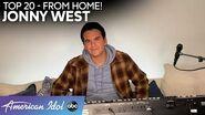 """Jonny West is EMOTIONAL Singing """"What A Wonderful World"""" - American Idol 2020"""