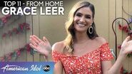 "Grace Leer Sings BEAUTIFUL Rendition of ""Over The Rainbow"" - American Idol 2020"