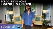 """AMAZING! Franklin Boone Performs """"Everybody Wants To Rule The World"""" - American Idol 2020"""