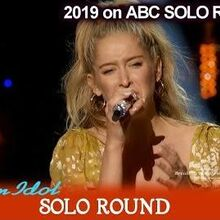 "Margie Mays sings ""Never Enough"" Tearful this time American Idol 2019 SOLO Round"