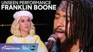 NEVER BEFORE SEEN! Franklin Boone Sings A Sexy John Mayer Song! - American Idol 2020