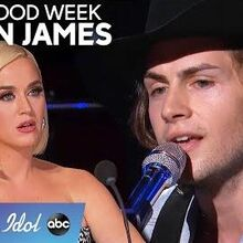 Dillon James WOWS During Solo Round with an Original Song - American Idol 2020