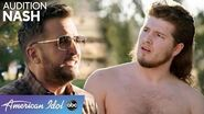 Mullet Man Crashes Luke, Lionel, and Katy's S'more Party - American Idol 2020