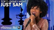 "JUST SAM Has Her Disney Moment Performing ""A Dream Is A Wish Your Heart Makes"" - American Idol 2020"