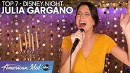 "Julia Gargano Gives STUNNING Performance Of ""Beauty and The Beast"" - American Idol 2020"