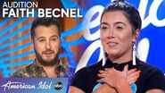 Soulful Faith Becnel Brings Louisiana Flavor to Her Audition - American Idol 2020