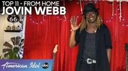 INCREDIBLE Jovin Webb Puts His Soul Into An Allen Stone Classic - American Idol 2020
