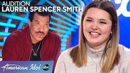 WOW! Lauren Spencer Smith Has a Voice That Leaves Luke Bryan Speechless - American Idol 2020