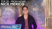 Nick Merico Gives a LOVELY Performance of Plain White T's Hit - American Idol 2020