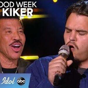 Garbage Man Doug Kiker Gives It His All During Hollywood Week - American Idol 2020