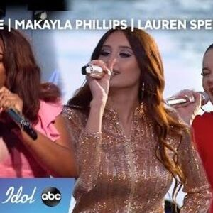 GIRL POWER At Its Finest From Cyniah, Lauren and Makayla During Top 40 Showcase - American Idol 2020