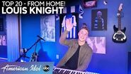 """WHOA! Louis Knight Captivates With """"If The World Was Ending"""" - American Idol 2020"""