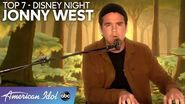 """WOW! Jonny West Performs """"Almost There"""" From HOME for Disney Night! - American Idol 2020"""