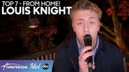 HEARTWARMING Mother's Day Dedication From Louis Knight! - American Idol 2020