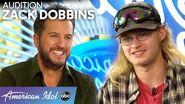Luke Bryan Helps Mud-Covered Zack Dobbins Tune Up - American Idol 2020