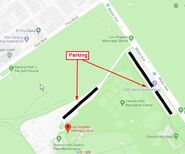 LAPC parking in Rancho Park