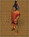 Aztecs chief
