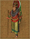 Maya shaman