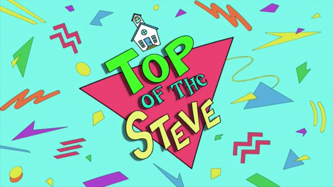 Top of the Steve Theme
