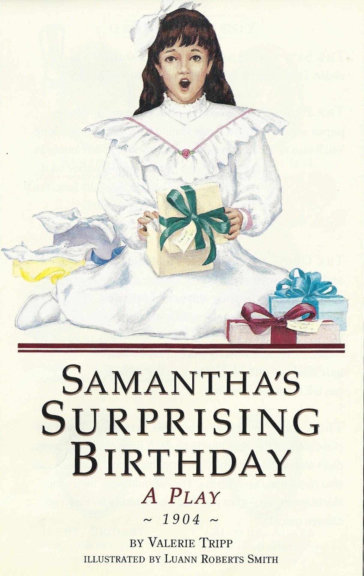 Samantha's Surprising Birthday