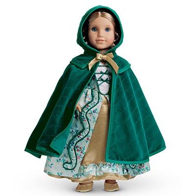 Elizabeth's Quilted Cloak