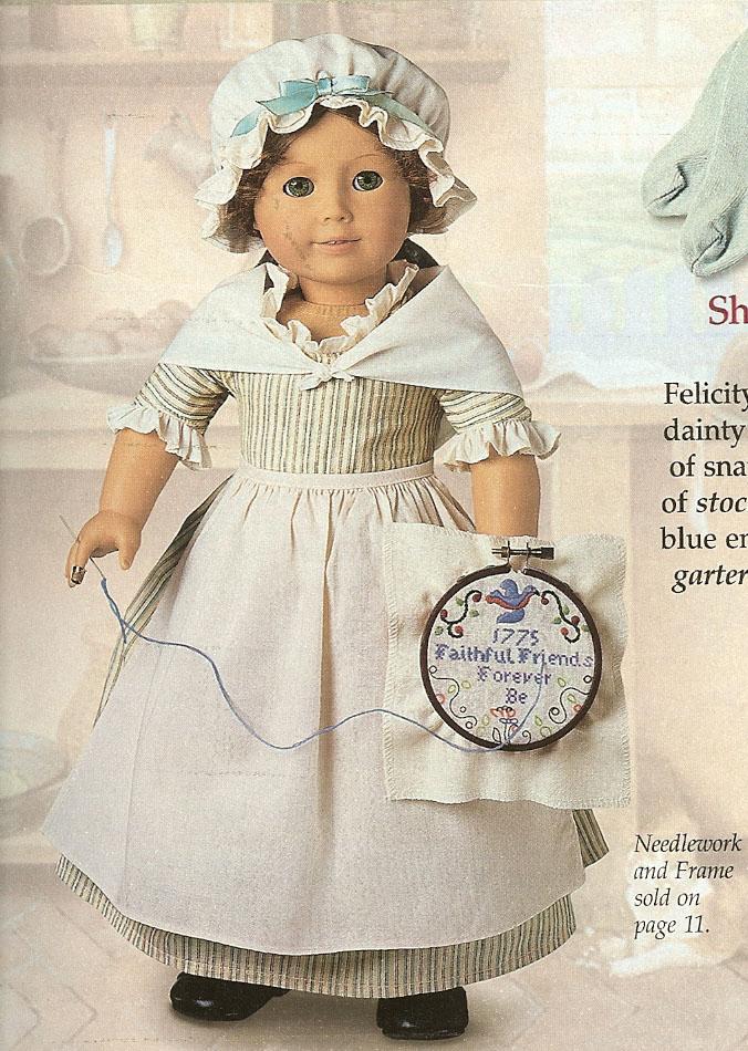 Felicity's Work Gown